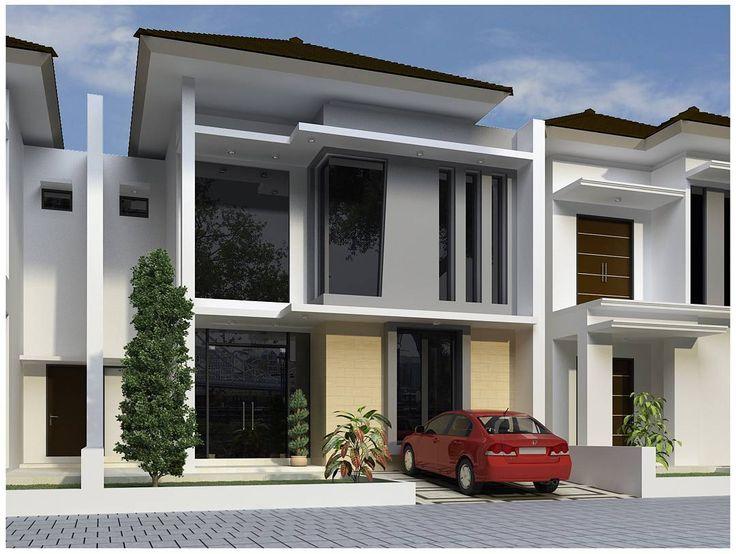 Desain Rumah Minimalis 2 Lantai Type 45 Terbaru Dengan ...