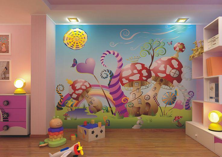 Δημιουργήστε ένα μαγικό παραμυθένιο χώρο για το παιδί σας, εύκολα με τοποθέτηση ταπετσαρίας!