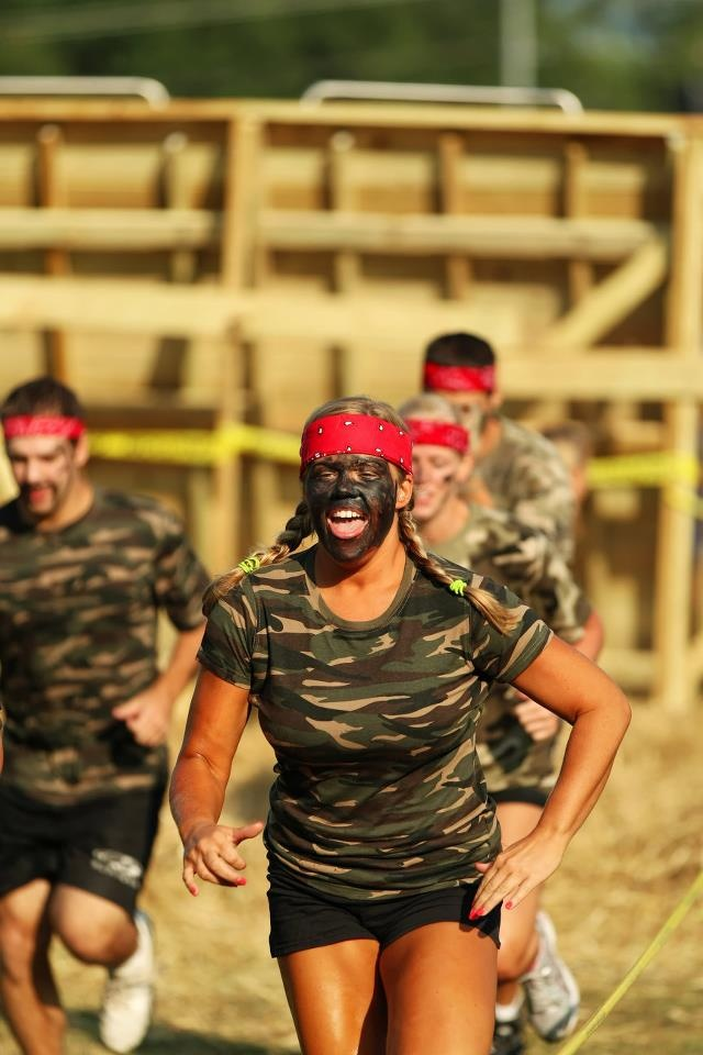 For all you Rugged types in need of a Mud Run Costume