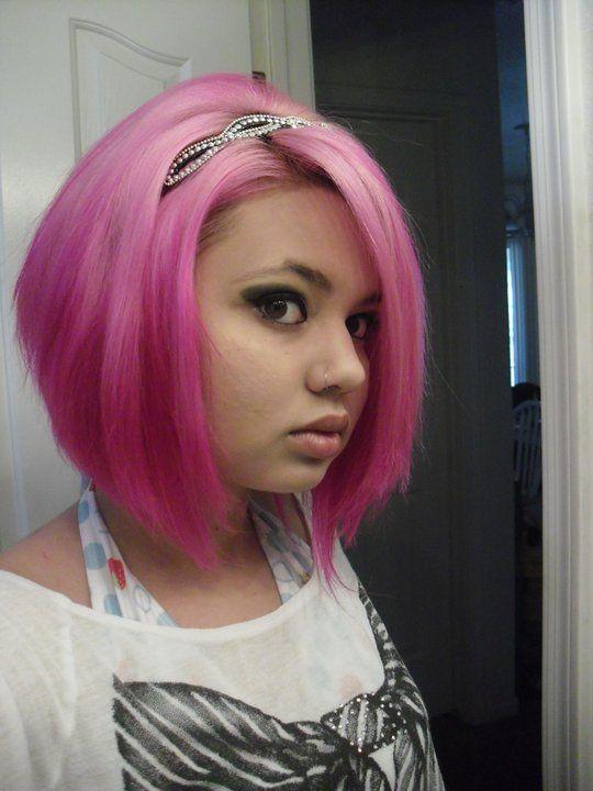 pink bob