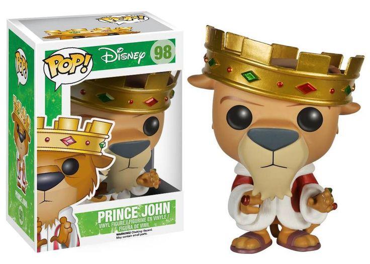 Funko Pop Disney Prince John