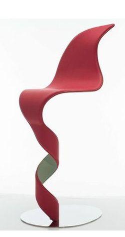 Cadeira alta de pele Fabricante Crjos Design Milano design by Rita Rijillo