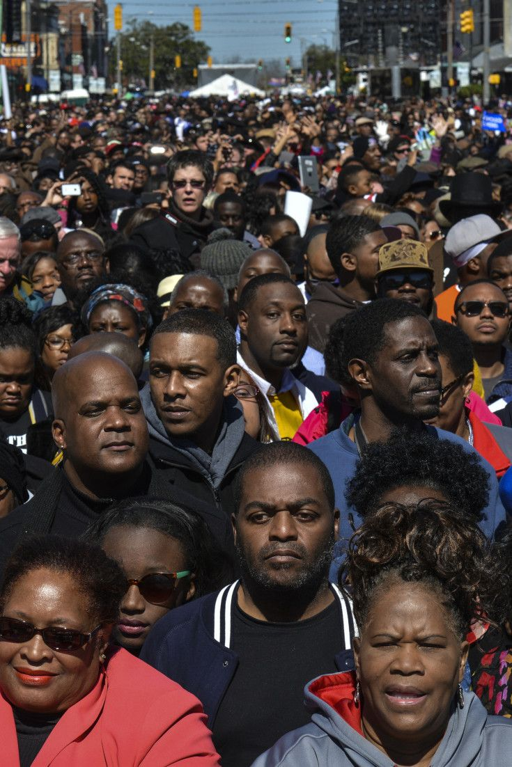 Bloody Sunday Anniversary Commemorated With March Across Selma Bridge