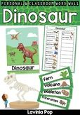 Dinosaur Word Wall