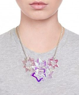 Cosmic Star Statement Necklace