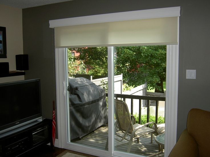 Best 25 sliding door shades ideas on pinterest sliding for Door roller blinds