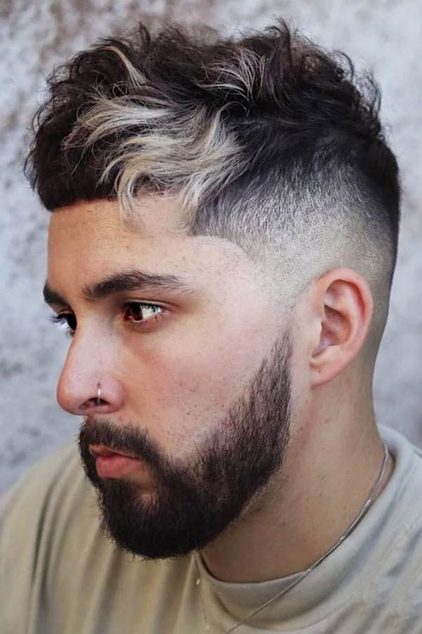 Hair Dye Guide For Men Who Want To Color Their Mane Menshaircuts In 2020 Dyed Hair Men Guys With Black Hair Vivid Hair Color