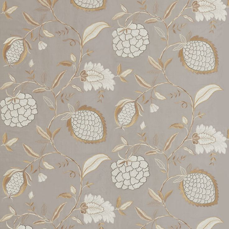 Zoffany - Luxury Fabric and Wallpaper Design   Products   British/UK Fabric and Wallpapers   Pomegranate Tree (ZWIN332344)   Winterbourne Prints & Embroideries