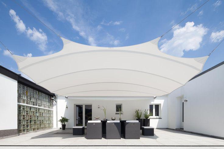 square4sun line - Elektrisch aufrollbare high-end Sonnensegel Mehr