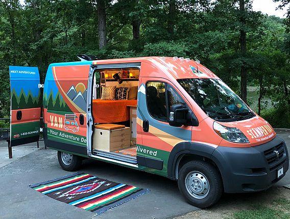 Camper Rental In Atlanta Ga Scamper Van Camper Rental Rv Trip Planner Campervan Rental