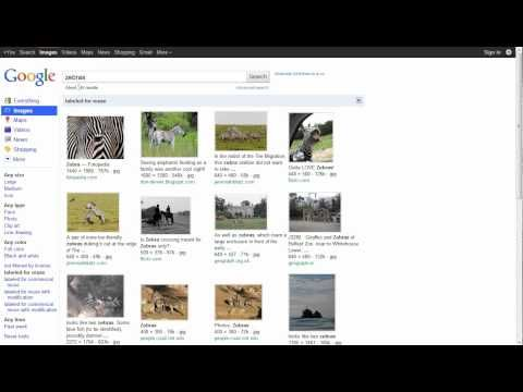 finding Creative Commons images through Google