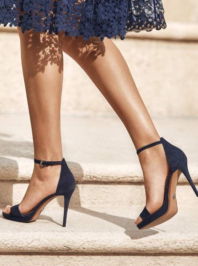 Heels, Shoes women heels, Ankle strap heels