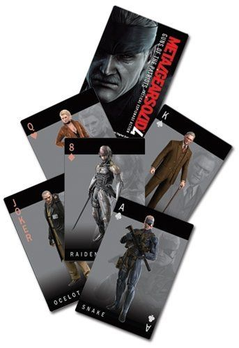Metal Gear Solid 4 Guns of the Patriots Playing Card by Great Eastern. $5.65. Officially licensed MGS 4 playing cards.