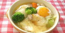 お餅スープ