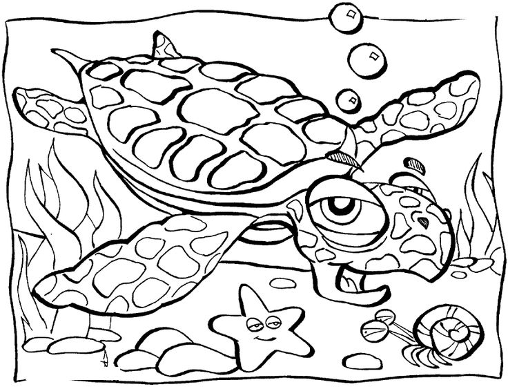 21 best under the sea images on pinterest animal coloring pages coloring books and. Black Bedroom Furniture Sets. Home Design Ideas