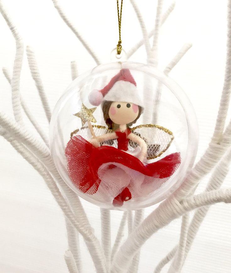 Christmas Fairy Bauble, Christmas Bauble, Christmas Baubles, Fairy Bauble, Christmas Decoration, Christmas Fairy, Christmas Tree Decorations