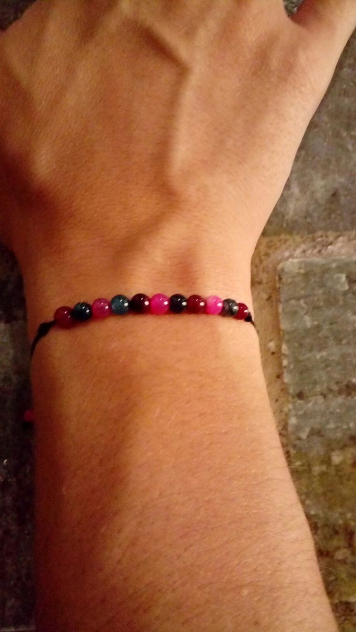 Bracelet with colors