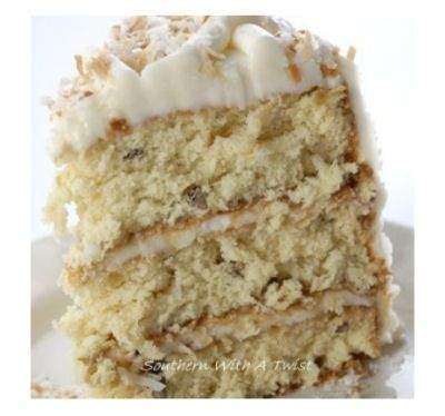 Viva Italia! Favorite Italian Recipes - Italian Cream Cheese cake  http://thegardeningcook.com/favorite-italian-recipes/