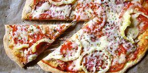 Najjednoduchšie a najrýchlejšie cesto na pizzu