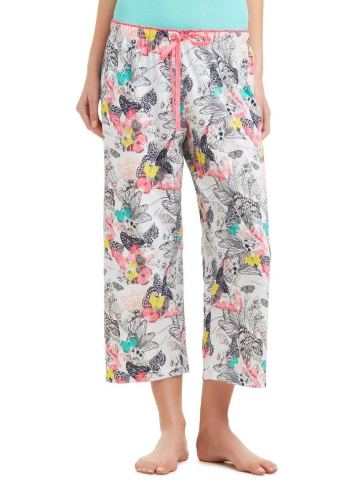 Sussan - Sleepwear - Pants - Butterfly print pj pant