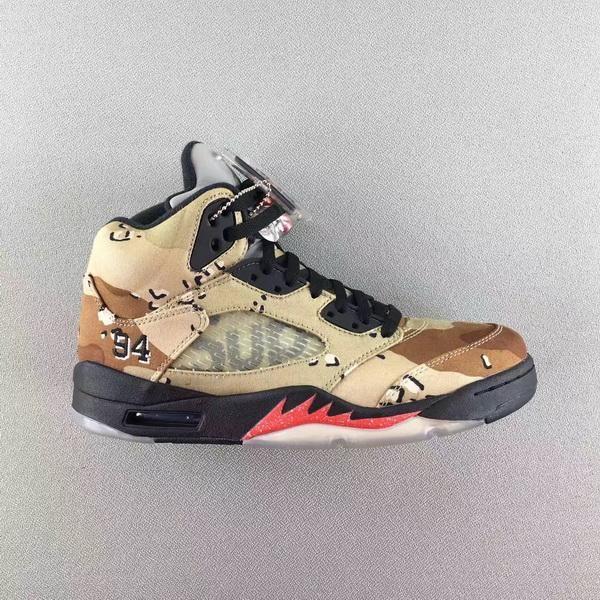 Air Jordan 5 Supreme x Camo