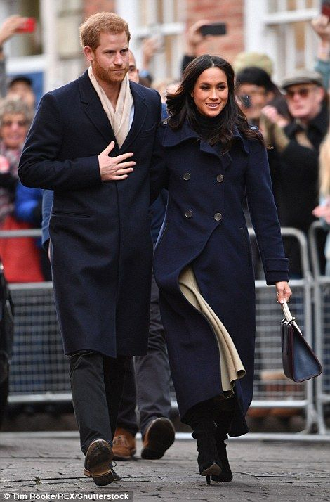 Prince Harry and Meghan on first royal engagement together | Daily Mail Online