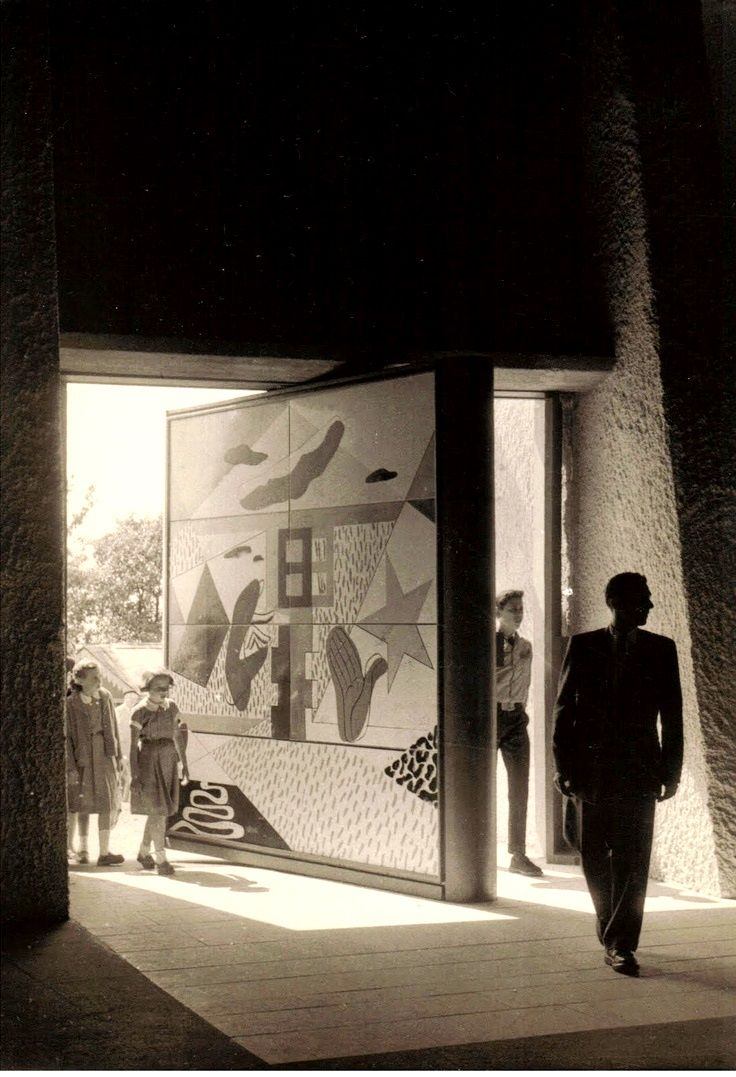 587 best images about light shadow in architecture on - Arquitecto le corbusier ...