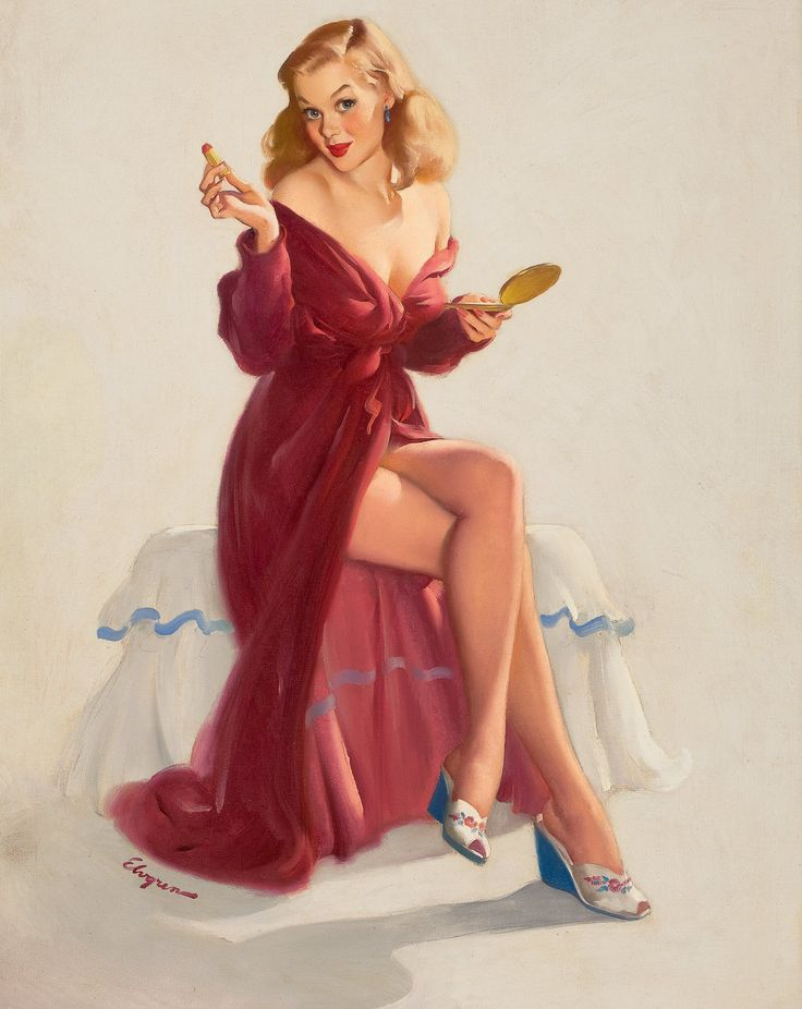 GIL ELVGREN (American, 1914-1980). This Doesn't Seem to Keep | Lot #78141 | Heritage Auctions