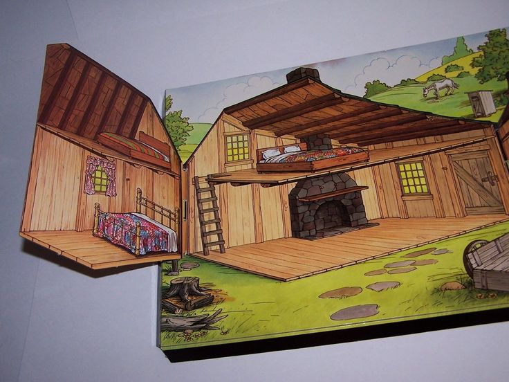 House On A Prarie Painting