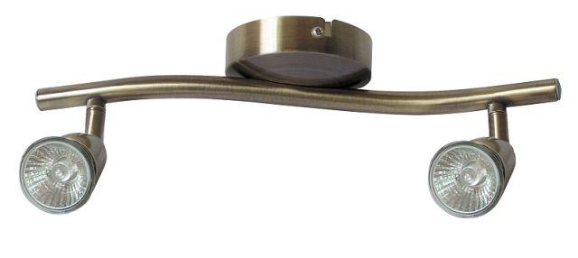 Norman - bodové svietidlo - 2x50W - bronz