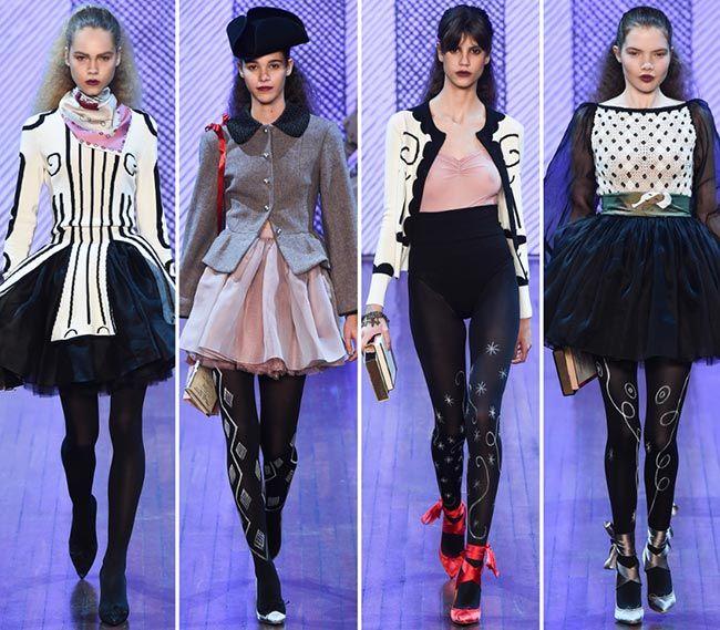 Олимпия Ле Тан Осень/Зима 2015-2016 Коллекции - Неделя Моды В Париже