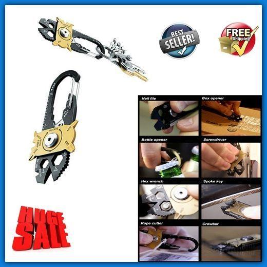 DIY Home Repair Tool Kit Set Modern Key Holder Portable Helping Hand Ultimate HQ