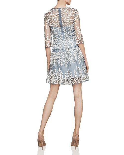 53c915ba06b BCBGMAXAZRIA - Vine Appliqué Dress