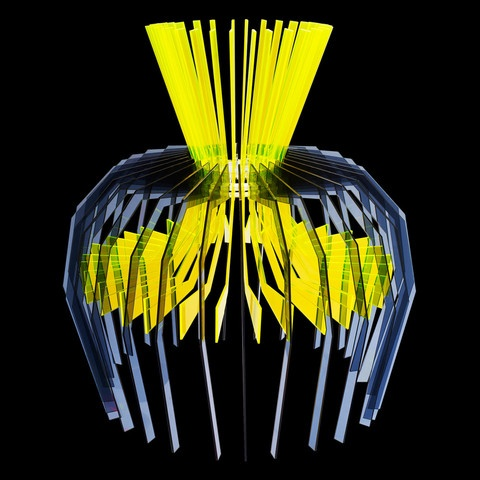 Tiato Anemone Laser Cut Acrylic Light Shade £435.00 Www.sarahangold.com