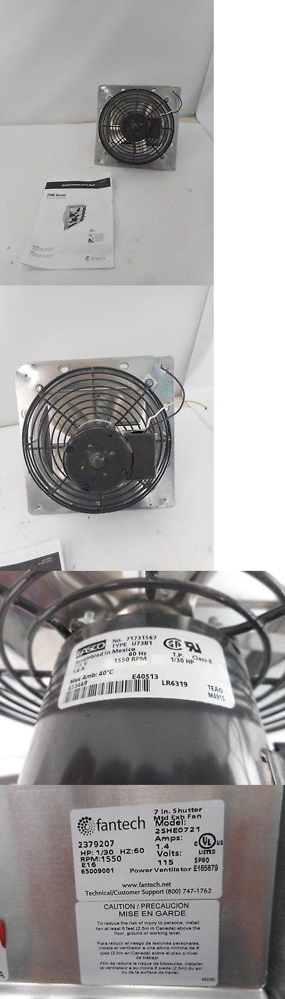 Other Bathroom Items 19783: Fantech 2She0721 - 7 Axial Wall Shutter Fan, Direct Drive - Silver -> BUY IT NOW ONLY: $92.69 on eBay!