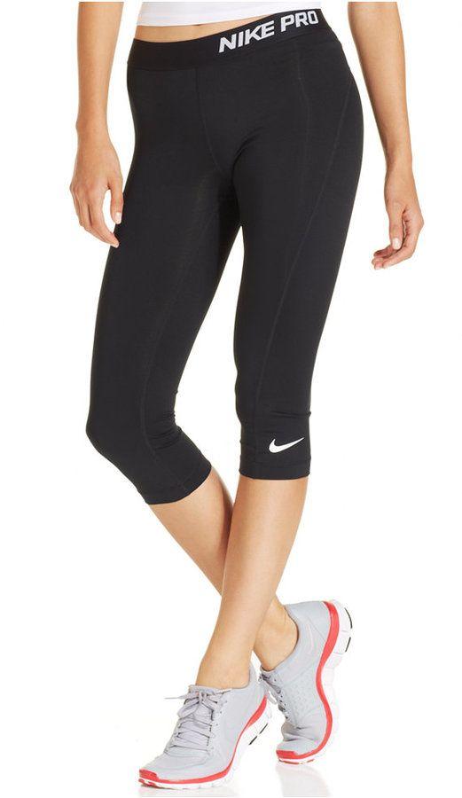 065260c0302b6 Nike Pro Capri Active Leggings | Gifts for Fit Fanatics | Caleçon, Sport,  Vetements