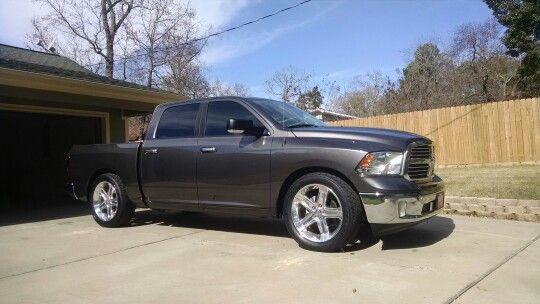 Ram 1500 2 4 Drop R T Wheels Dodge Trucks Dodge Trucks