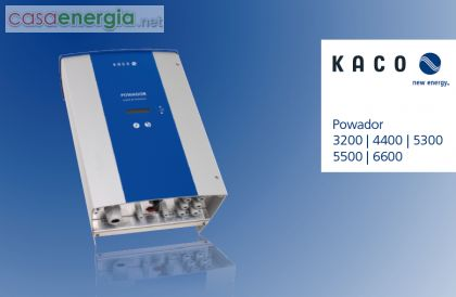 Inverter Solare Powador 3200-6600 - KACO new energy ITALIA