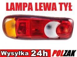 Nowa LEWA lampa tylna tył NISSAN NV400 2010 - skrzyniowy