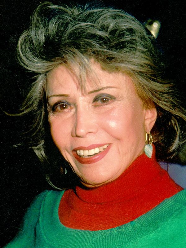 """Voice Actor June Foray won her first #mmy at the age of 95. June Foray has been called """"The First Lady of Cartoon Voices"""" and it was director Chuck Jones who said, """"June Foray is not the female Mel Blanc. Mel Blanc is the male June Foray."""" For over sixty years, Ms. Foray has been the most prolific, oft-heard voice in animation, to say nothing of her constant work before and since in radio, commercials, film dubbing and narration."""