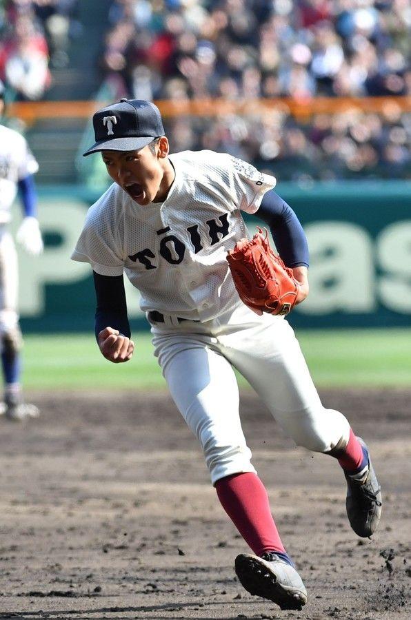 <選抜高校野球>最後はスライダーで併殺に 大阪桐蔭・根尾