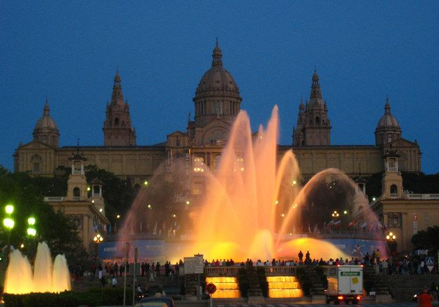 The magical fountain   20 Things Locals Love About Barcelona