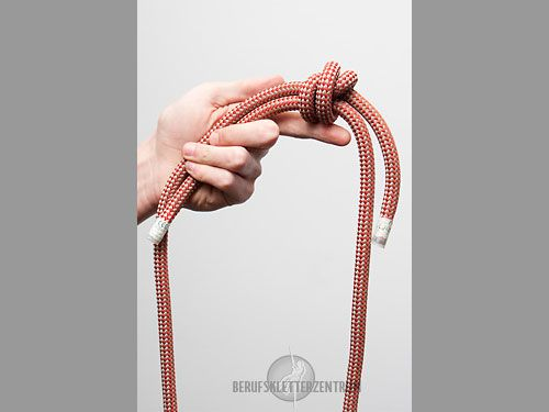 Doppelter Spierenstich Knoten, Knotenkunde | Klettern, Industrieklettern, Baumklettern