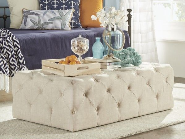 The 25+ Best Tufted Ottoman Coffee Table Ideas On Pinterest | Upcycled  Furniture Before And After, Thrift Store Usa And Padded Coffee Table Part 60