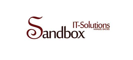 Sandbox IT-Solutions logo design
