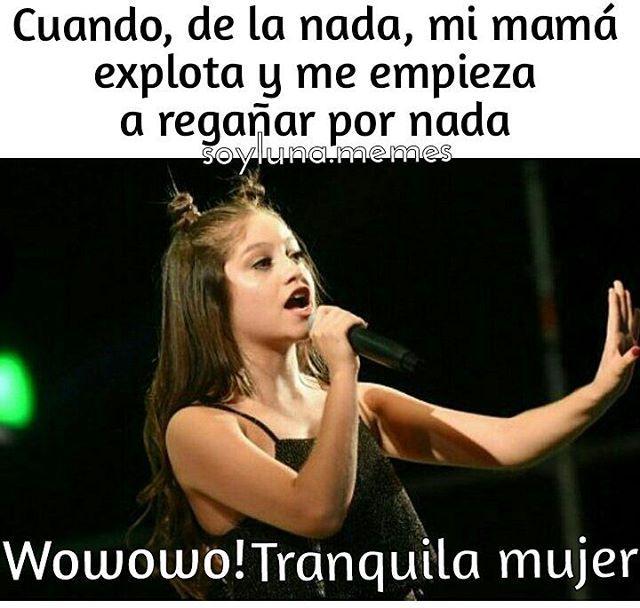 Mmhh!!  RODAS LAS MAMÁS...  Ninguna se salva!!  A quien mas le pasa? - L #soyluna #soylunamemes