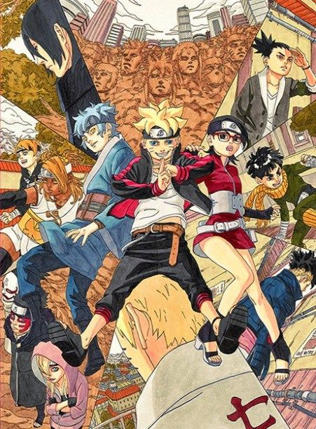 Boruto também estará na Jump Special Anime Festa