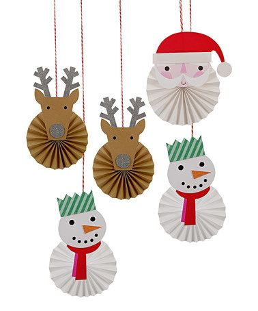 Look at this #zulilyfind! Be Jolly Hanging Decoration Kit #zulilyfinds