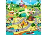 Tapete Infantil Play Mat Story World 1 Peça - 19x19cm Dupla Face Safety 1st