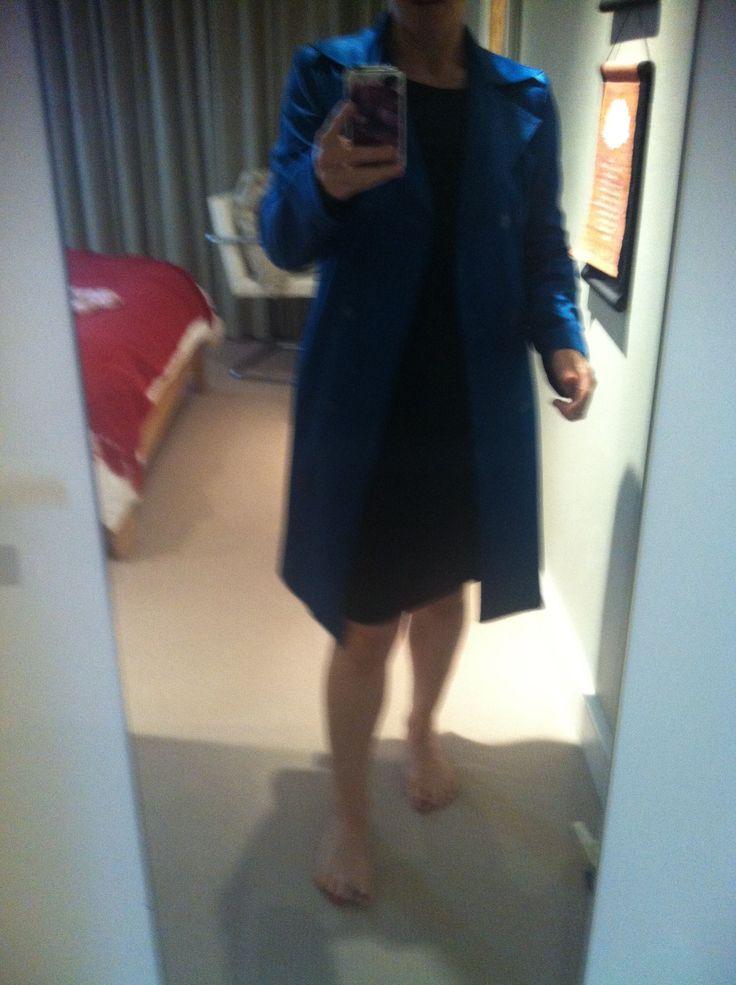 Bright Blue Very Very Jacket